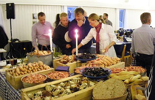 Bohus Malmön Skaldjursbuffé