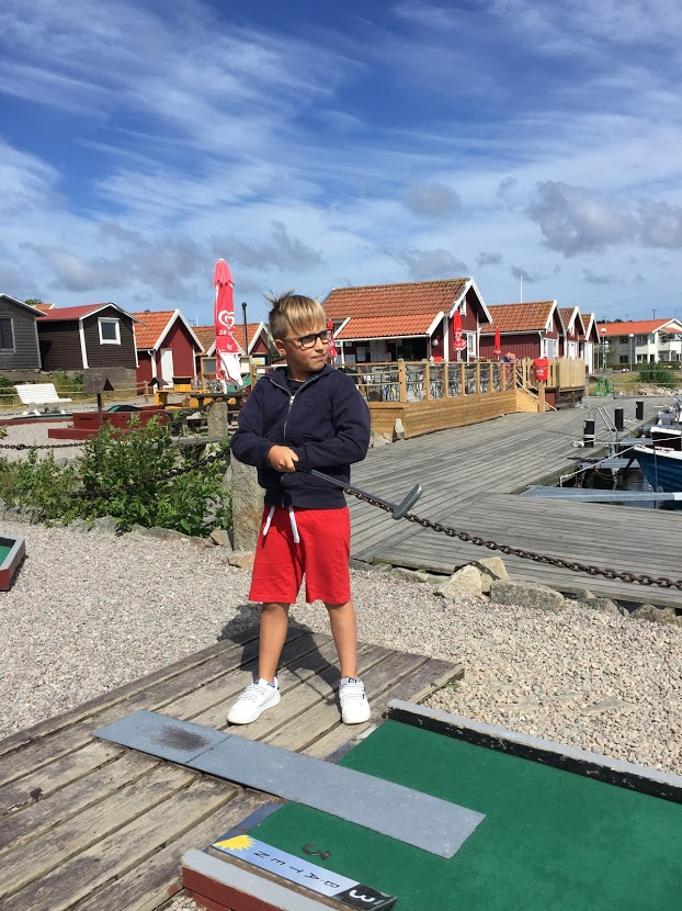 Minigolf på Bohus-Malmön